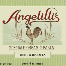 Angelilli's- organic pasta. branding, packaging