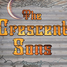 Crescent Sons-album cover. branding, packaging