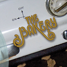 The Bakery-album cover. branding, packaging
