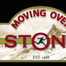 Moving Over Stone- mountaineer & writer. branding, packaging , web design and maps