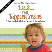 The Toddler Center- re-design of a book cover. print