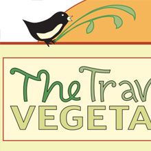The Traveling Vegetarian- branding