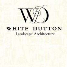 White Dutton, landscape architect. branding, print